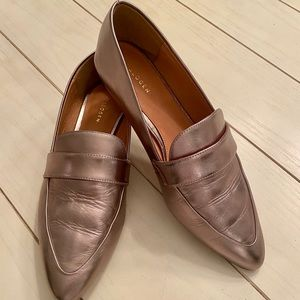 Halogen leather flats. Size 8. New!